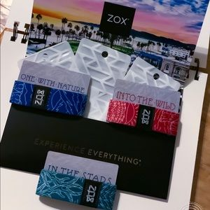 ZOX Strap Nature Pack - Set of 3 Wristband & Card